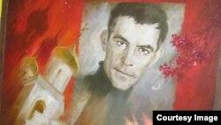 Портрет Василя Стуса в ДонНУ, 2001 рік