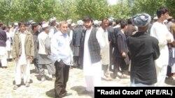 Джумахон Алими в Афганистане