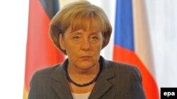 "German Chancellor Angela Merkel: ""We need each other."""