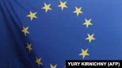 Флаг Европейского союза.