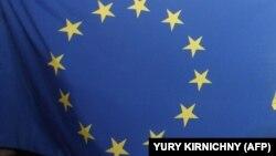 Флаг Европейскоого союза.