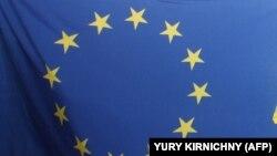 Флаг Европейского союза (ЕС).