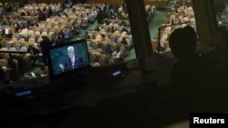 نمایی از مجمع عمومی سازمان ملل