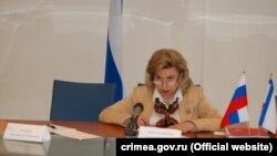 Уповноважений з прав людини Росії Тетяна Москалькова