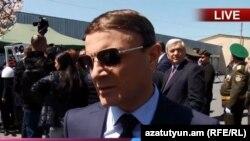 Начальник Полиции Армении Валерий Осипян, 26 апреля 2019 г.