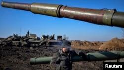 Ukrajinski vojnik u regiji Donjecka