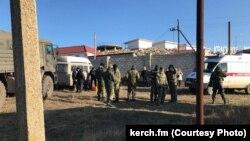 Конфликт жителей села Золотое с российскими силовиками, 22 декабря 2017 года