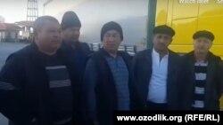 Эрон-Туркманистон чегарасида қолиб кетган ўзбек фурачилар.