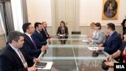Архива - Премиерот Заев на Самитот за Западен Балкан во Трст.