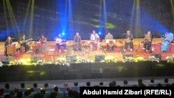 فرقة كامكاران الكردية الايرانية تقدم حفلاً موسيقياً في اربيل