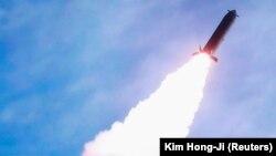 کوریای شمالی آزمایش راکتهای دوربرُد را انجام داد