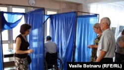 Голосование в Кишиневе