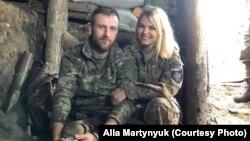 Алла Мартинюк і Віталій Аверін