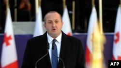 Georgian President Giorgi Margvelashvili reaffirmed that his country will initial an association agreement with the European Union. (file photo)