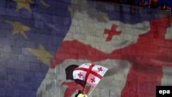 Վրաստան - Թբիլիսիում տոնում են Եվրամիության հետ Ասոցացման համաձայնագրի ստորագրումը, 27-ը հունիսի, 2015թ․