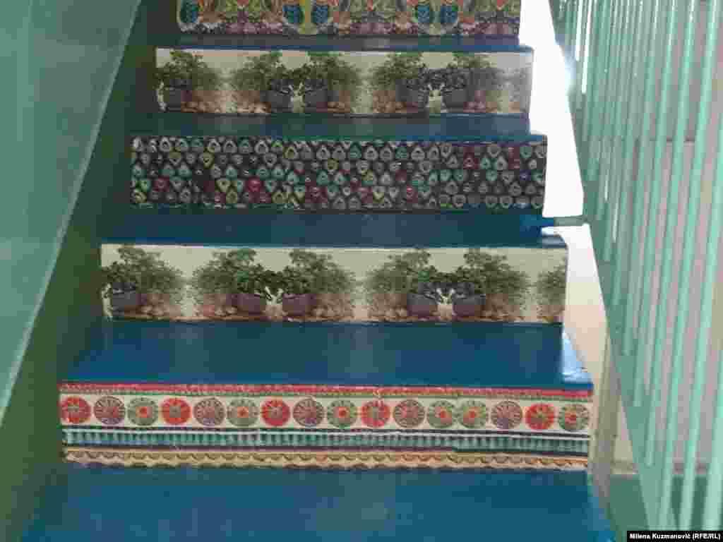 I za lakši uspon uz stepenice