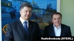 Петро Порошенко і Богдан Данилишин