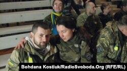 Під час благодійного концерту, Київ, 7 лютого 2015 року
