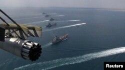 Учения российских ВМС в Черном море (архив)