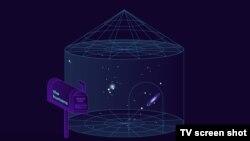 Skrinšot iz animiranog filma Kurzgesagta
