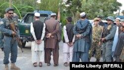 افراد دستگیر شده