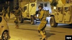 Ushtarë izraelitë në Bregun Perëndimor.