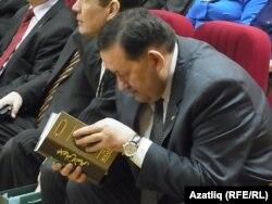 Татарстан Мәдәният министры Айрат Сибгатуллин