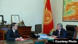 Алмазбек Атамбаев и Бусурманкул Табалдиев.
