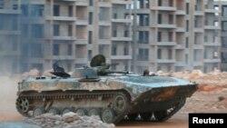 Під час бою за зняття облоги Алеппо, 5 серпня 2016 року