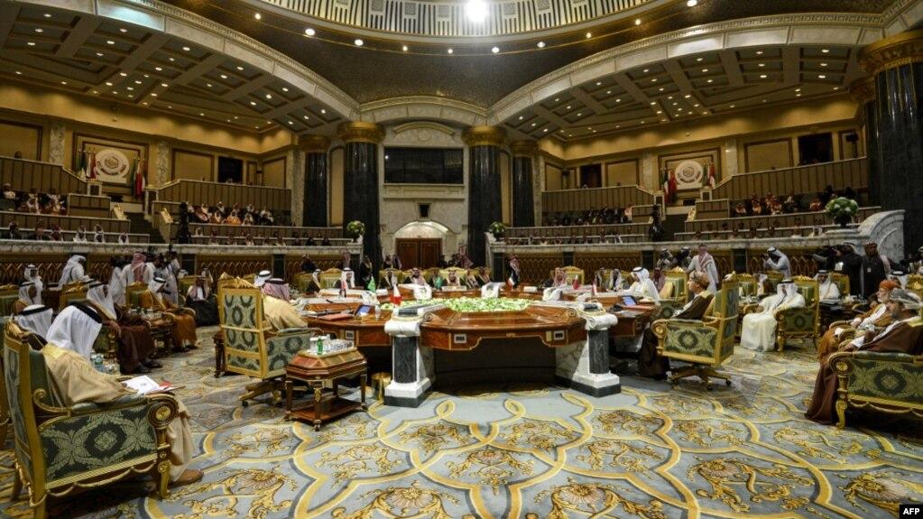 یکی از نشستهای شورای همکاری خلیج فارس