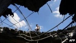 Результат одного з обстрілів на Донеччині (ілюстраційне фото)