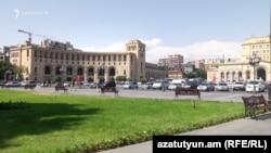 Ереван қаласы. Көрнекі сурет.