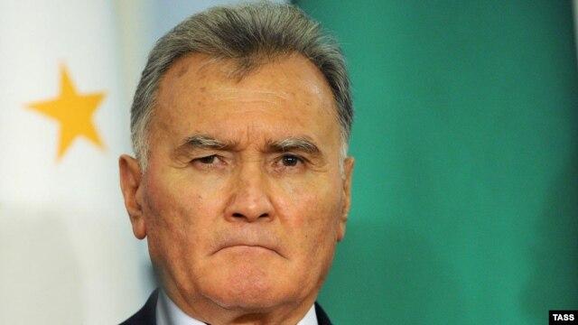Outgoing Tajik Prime Minister Akil Akilov