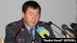 Министр внутренних дел Таджикистана Рамазон Рахимов.