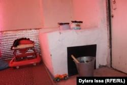 Печь в дома Жанботы Боранбаевой.