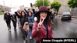 Anti-vladini protesti mladih u Jermeniji