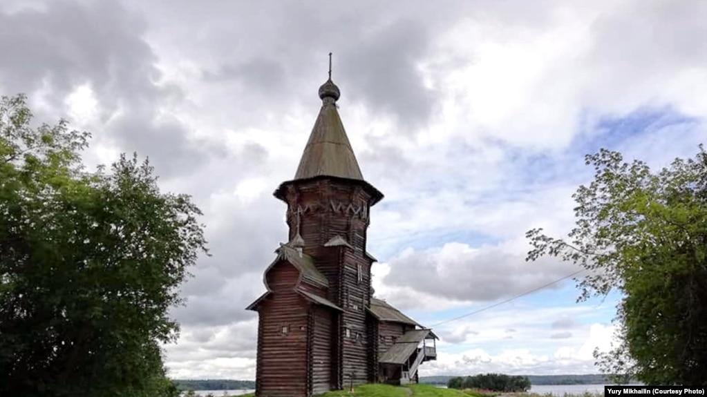 Деревянная церковь Успения Пресвятой Богородицы, XVIII век, Кондопога, Республика Карелия