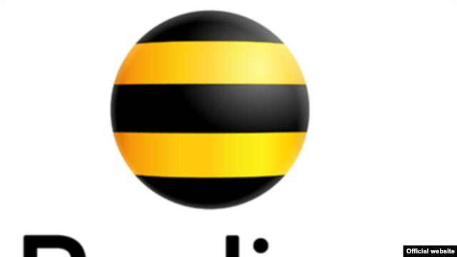Логотип мобильного оператора «Beeline».: rus.azattyk.org/content/news/24739505.html