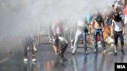 Фото од вчерашните протести.