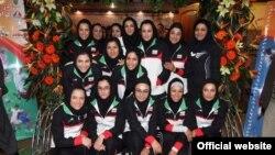 کاروان تیم دختران ایران در بازی های آسیایی گوانگ ژو