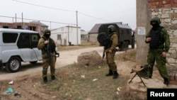 Спецоперация силовиков в Дагестане (архивное фото)