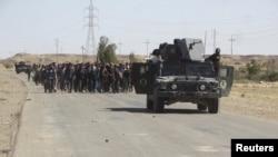 Forcat irakiane të sigurisë, 4 prill 2016