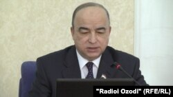 Спикер парламента Таджикистана Шукурджон Зухуров