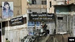 ارتش لبنان در این درگیری ها همچنان بی طرف مانده است. (عکس از epa)