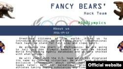 Fancy Bears հաքերային խմբավորման կայքը, արխիվ
