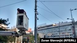 Huawei kamere u Beogradu: Ko gleda 'Velikog Brata'?