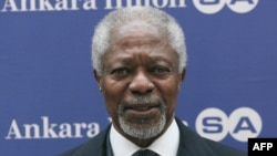 United Nations-Arab League envoy for Syria Kofi Annan is due to brief the UN Security Council on whether Damascus is moving toward implementing his peace plan.
