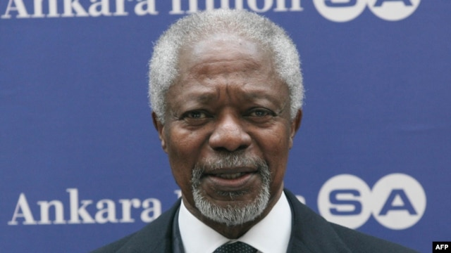 International mediator Kofi Annan has warned that the bloodshed in Syria could spread to neighboring countries.