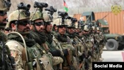 Forcat speciale afgane, foto ilustrim