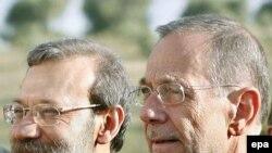 علی لاريجانی چند روز قبل از ديدار با سولانا از مقام خود کناره گرفت